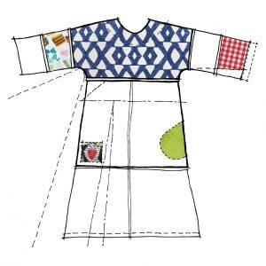 Modular sewing pattern