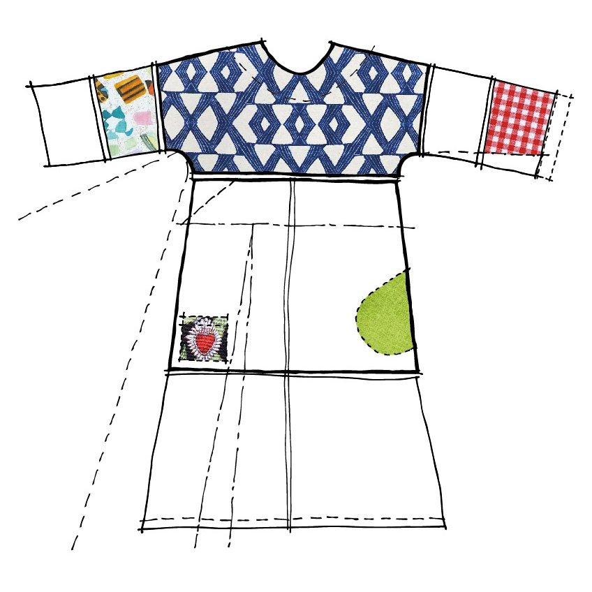 Modular sewing pattern