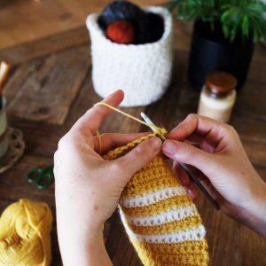 Double Crocheted Blanket