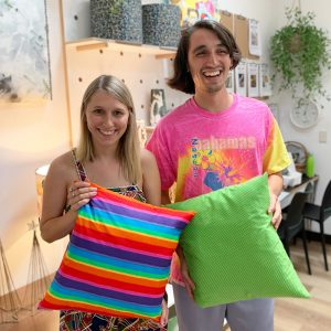 sewing skill builder cushion