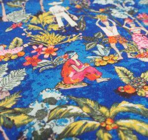 Caribbean Holiday Fabric
