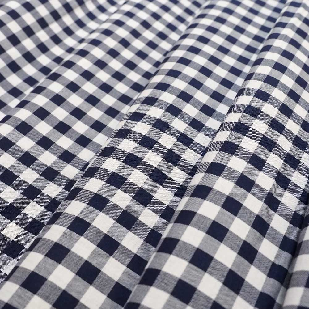 Fabric - Classic Navy Gingham