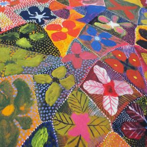 Water Lillies Fabric Detail
