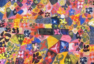 Water Lillies Fabric Full Panel