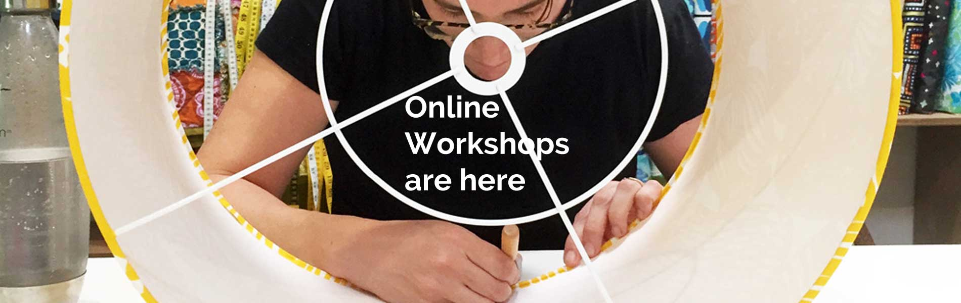 Online workshops are here