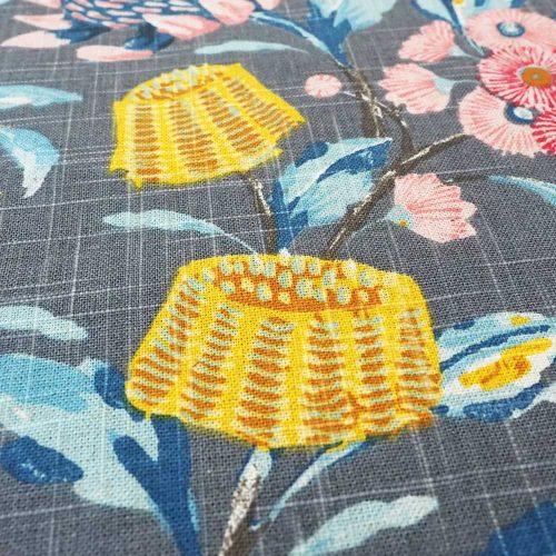 Hinterland Charcoal Fabric