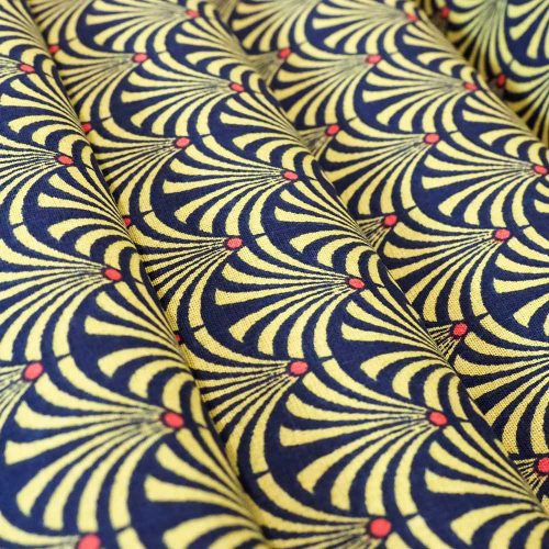 Gustave Gold fabric