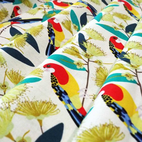 Rainbow Lorikeet Fabric