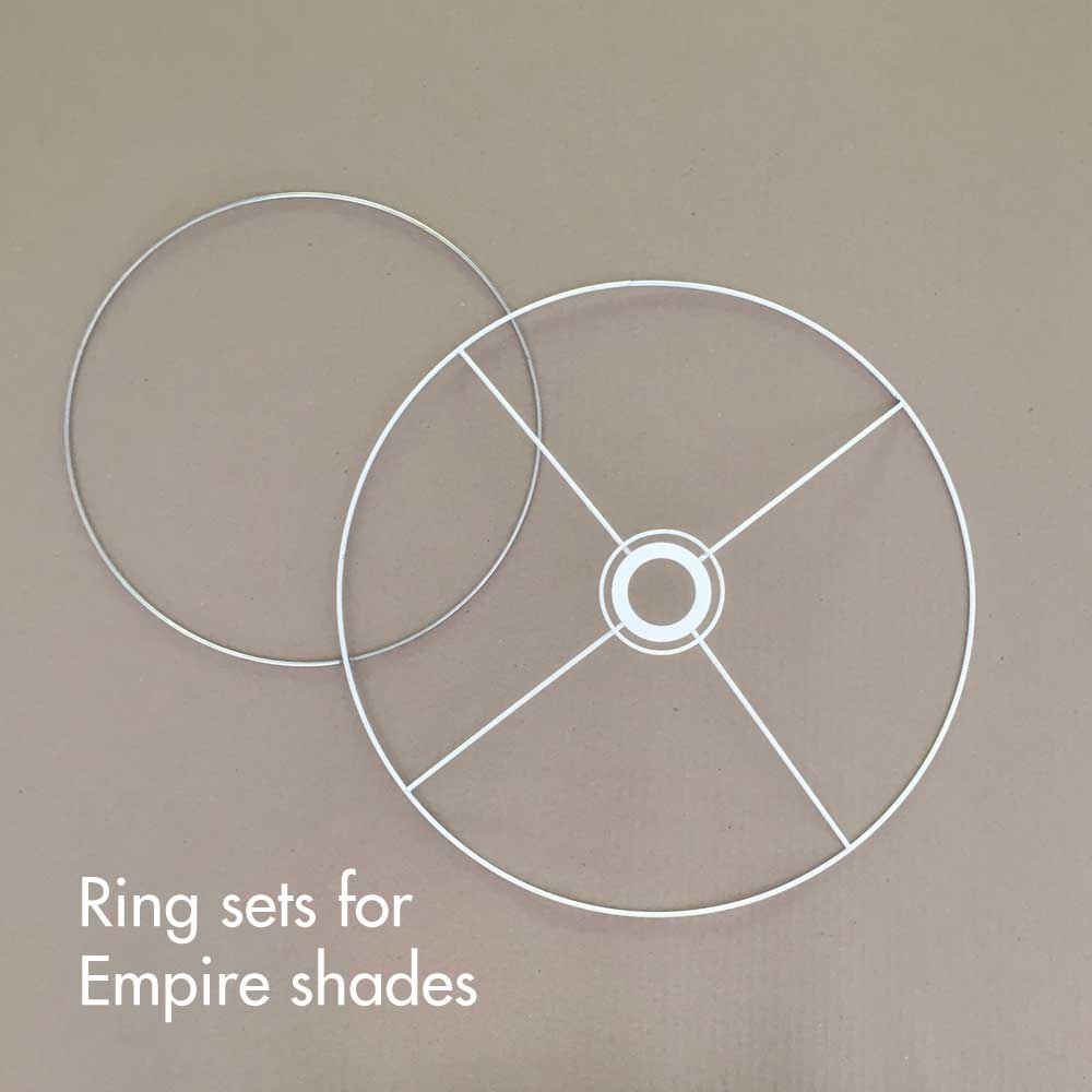 Lampshade Rings for Empire shades