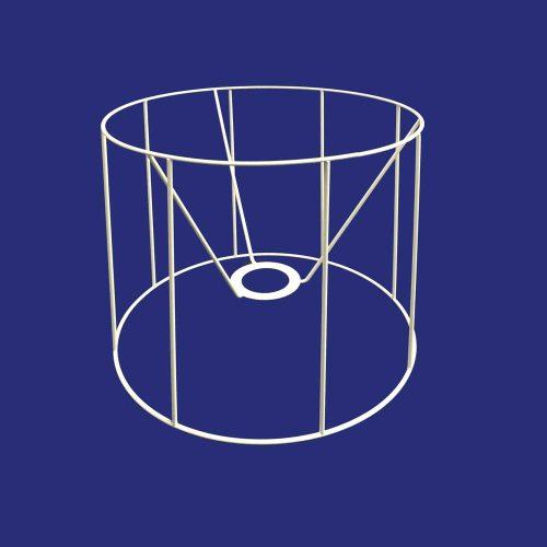Lampshade Drum Frame 25cm