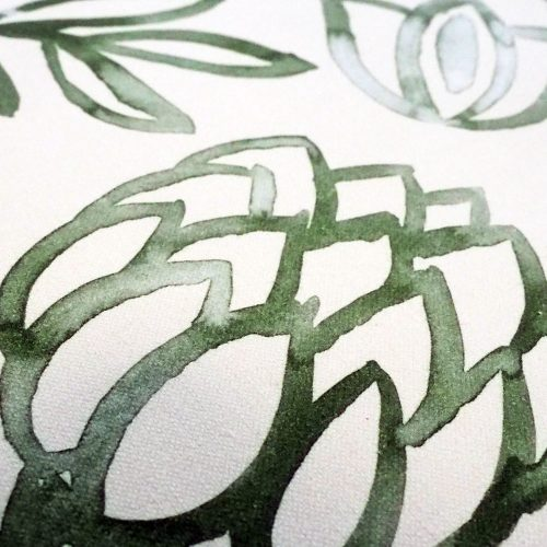 Fabric - Washed Leaves - Detail
