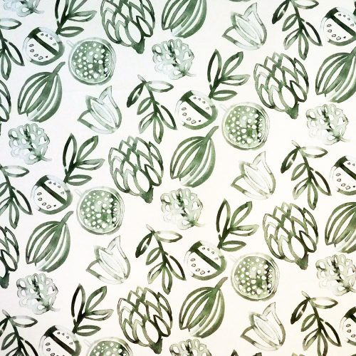 Fabric - Washed Leaves - Overview