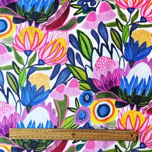 Full Bloom Fabric by Kirsten Katz