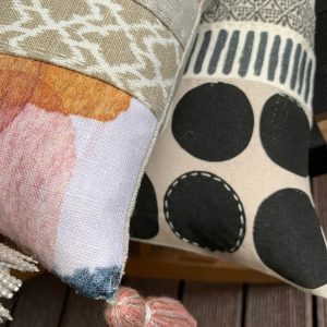 Slow Stitched Luxury Cushions