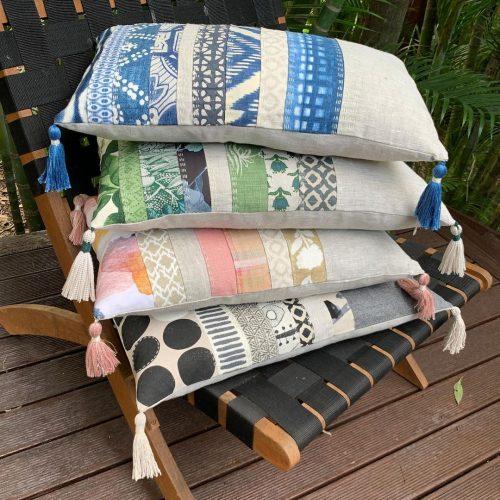 Slow Stitched Luxury Cushions