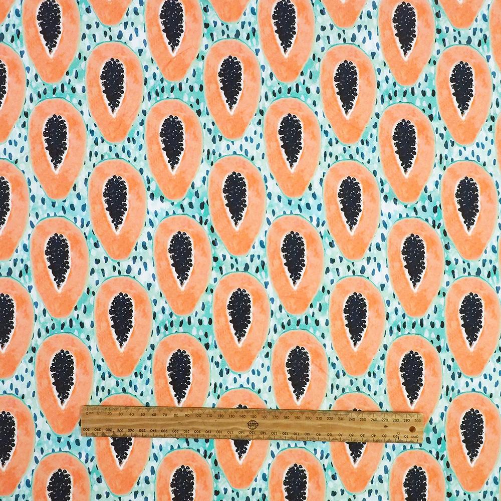 Fabric - Papaya