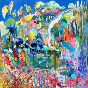 Birds of Paradise - Lou Jaeger Art Print on Canvas