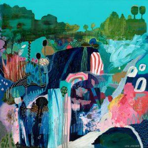 Coastal - Lou Jaeger Art Print on Canvas