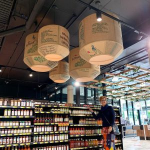 Commercial Lampshades made for IGA Supermarket