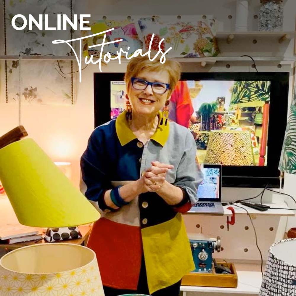 Online lampshade tutorials