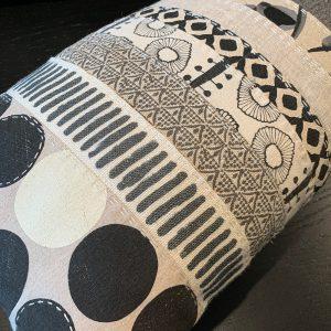 Slow Stitched Cushion Kit Monochromatic