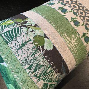 Slow Stitched Cushion Kit Verdant