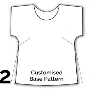 ModularME Sewing System Customised Base Top