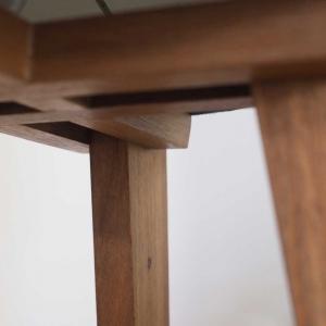 Rocket Lamp hardwood frame detail