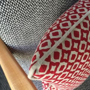 Ruby-cushion