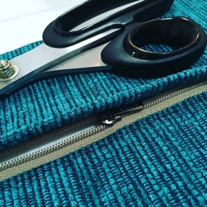 Upholstery sewing