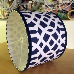 lampshade-blue-trellis